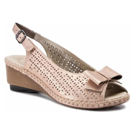 Sandały RIEKER - 66167-31 Rosa