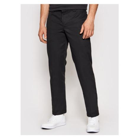 Dickies Spodnie materiałowe Straight Work DK0WP873 Czarny Slim Fit