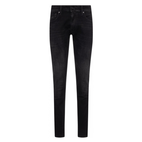 Pepe Jeans Jeansy Tapered Fit Stanley PM201705WE92 Czarny Tapered Fit