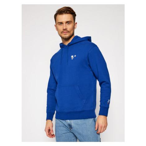 Levi's® Bluza PEANUTS® Graphic 38821-0019 Niebieski Loose Fit Levi´s