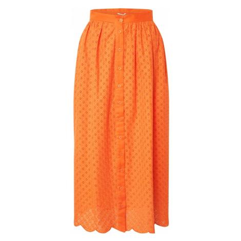 GLAMOROUS Spódnica pomarańczowy