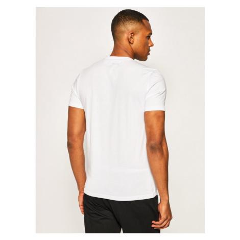 Blauer T-Shirt 20SBLUH02167 004547 Biały Regular Fit