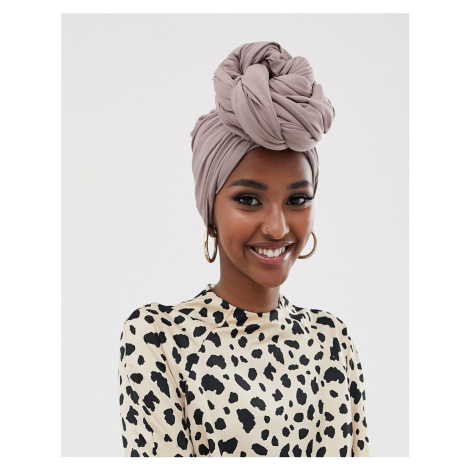 ASOS DESIGN large plain headscarf
