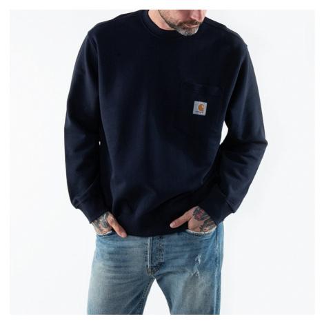 Bluza męska Carhartt WIP Pocket Sweatshirt I027681 DARK NAVY
