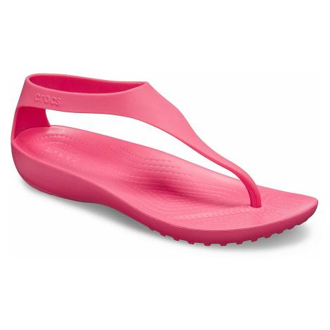 buty Crocs Serena Flip - Poppy