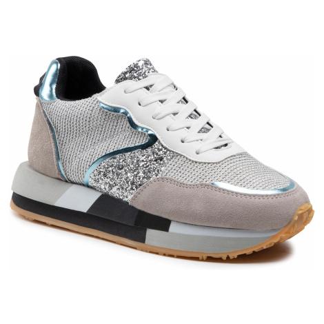 Sneakersy COLORS OF CALIFORNIA - HC.RUNEVA01 Silver