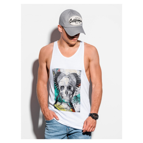 Ombre Clothing Men's printed tank top S1341