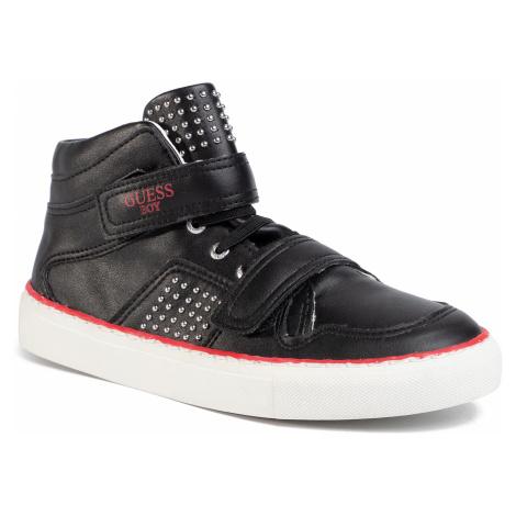 Sneakersy GUESS - Luiss Hi Jr FJ5LSH ELE12 BLK
