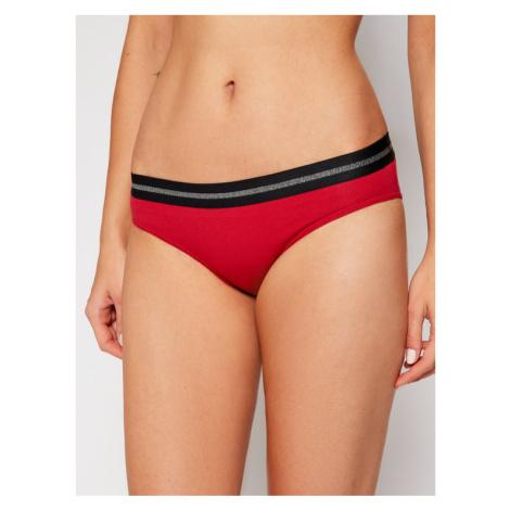 Emporio Armani Underwear Figi klasyczne 164213 0A232 00173 Czerwony