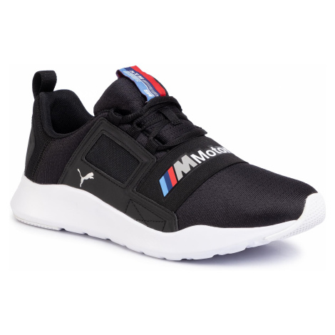 Sneakersy PUMA - Bmw Mms Wired Cage 306504 01 P Black/P Black/P White
