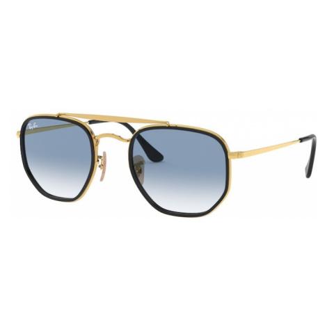 Ray-Ban Okulary przeciwsłoneczne 'THE MARSHAL II' niebieski / złoty