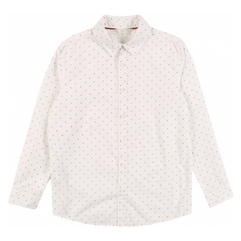 MANGO KIDS Koszula 'Topo' biały