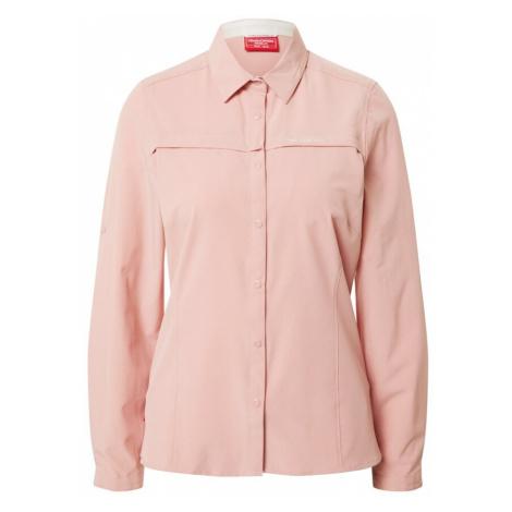 CRAGHOPPERS Bluzka funkcyjna różowy pudrowy