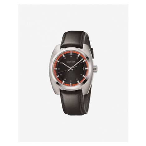 Calvin Klein Achieve Zegarek Brązowy Srebrny
