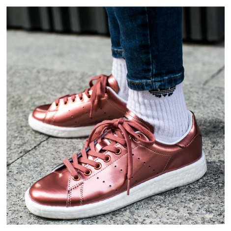 "Buty adidas Stan Smith Boost Women ""Copper Metallic"" (BB0107)"