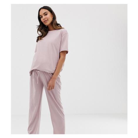 ASOS DESIGN Maternity mix & match marl pyjama jersey trouser
