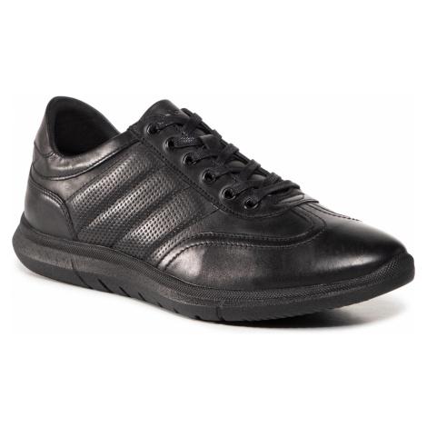 Sneakersy WOJAS - 10038-51 Czarny