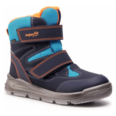 Śniegowce SUPERFIT - GORE-TEX 1-009078-8000 S Blau/Blau