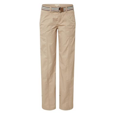 ESPRIT Spodnie 'F Play Pants' beżowy