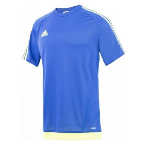 adidas ESTRO JR żółty 128 - Koszulka piłkarska chłopięca