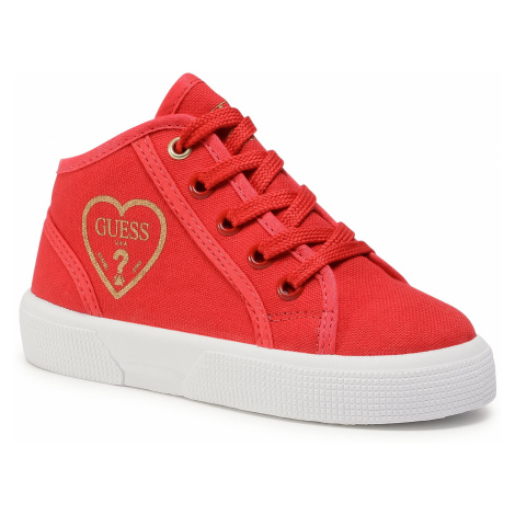 Sneakersy GUESS - Piuma Mid FI7PAM FAB12 RED