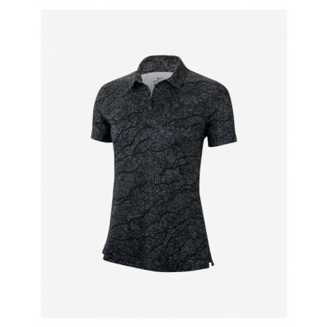 Nike Dry Uv Polo Koszulka Czarny