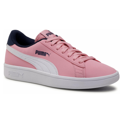 Sneakersy PUMA - Smash v2 Buck Jr 365182 16 Peony/Puma White/Peacoat