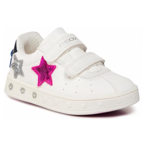 Sneakersy GEOX - J Skylin G. C J928WC 000BC C0563 M White/Fuchsia