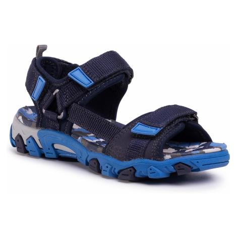 Sandały SUPERFIT - 0-600101-8000 S Blau/Blau