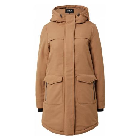 ONLY Płaszcz zimowy 'Maastricht' jasnobrązowy
