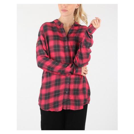 SuperDry Koszula Czerwony