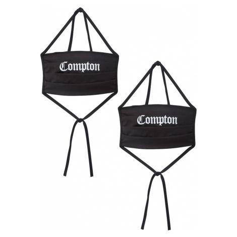 Mister Tee Maska z materiału 'Compton' czarny
