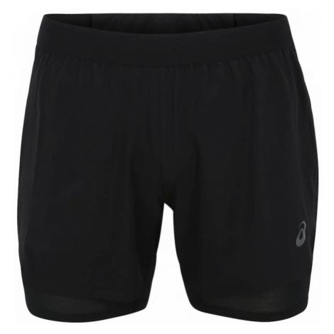 ASICS Spodnie sportowe 'ROAD 2-N-1' czarny