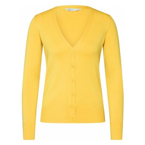 ONLY Sweter 'VENICE' żółty