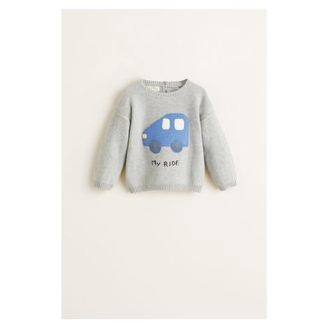 Mango Kids - Sweter dziecięcy Ride 62-80 cm