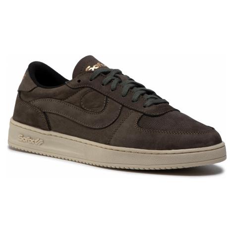 Sneakersy SOFIX - 01SZ15 Zielony