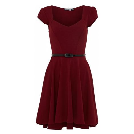 Boohoo Sukienka 'Lara' czerwony