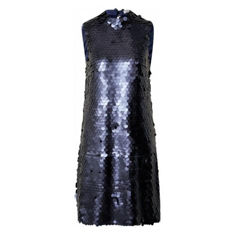 Chi Chi London Sukienka granatowy