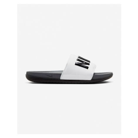Nike Offcourt Kapcie Biały Szary
