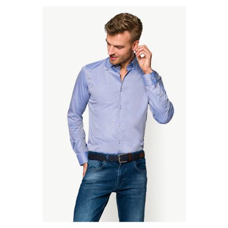 Koszula Niebieska w Mikrowzór Gajana
