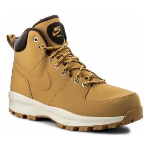 Nike Buty Manoa Leather 454350 700 Brązowy
