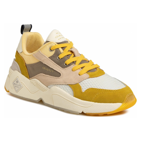 Sneakersy GANT - Nicewill 20533687 Yellow/Beige G158