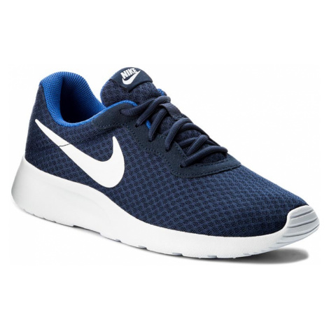 Buty NIKE - Tanjun 812654 414 Midnight Navy/White Game Royal