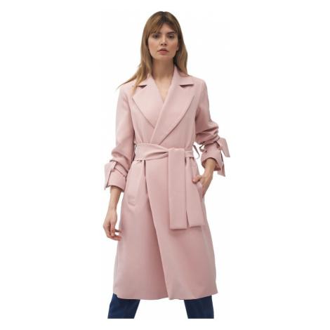 Płaszcz z wiązanymi rękawami Nife