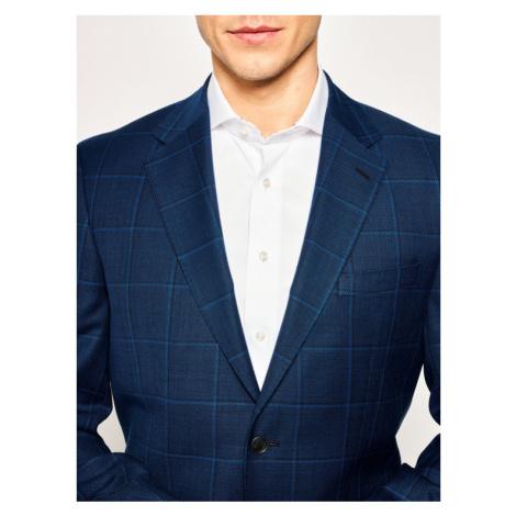Boss Marynarka Jewels5 50427049 Granatowy Regular Fit Hugo Boss