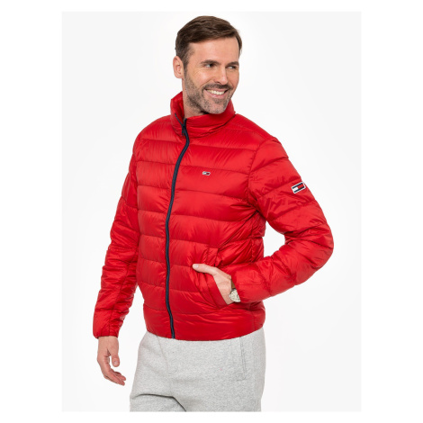 """Tommy Jeans """"Packable Light Jacket"""" Red Tommy Hilfiger"""