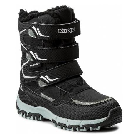 Śniegowce KAPPA - Great Tex 260558K Black/Silver 1115