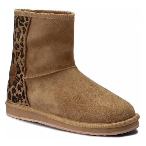 Buty PEPE JEANS - Angel Leopard PGS50106 Camel 855