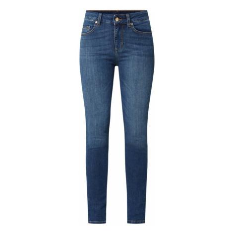 Jeansy o kroju skinny fit z dodatkiem streczu model 'Divine'