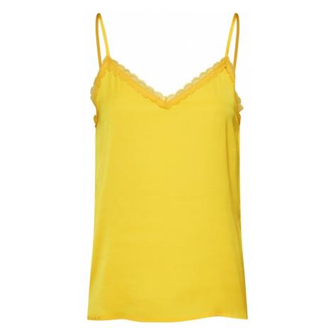 ONLY Bluzka 'ALICE' żółty